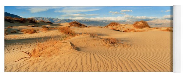 Sand Dunes In A National Park, Mesquite Yoga Mat