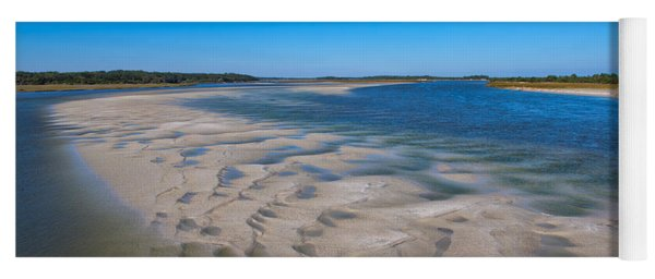Sandbars On The Fort George River Yoga Mat