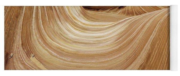 Sandstone Lines Yoga Mat