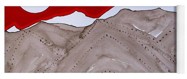 Sangre De Cristo Peaks Original Painting Yoga Mat