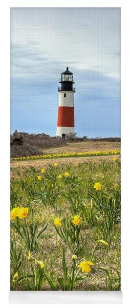 Sankaty Lighthouse Nantucket Yoga Mat