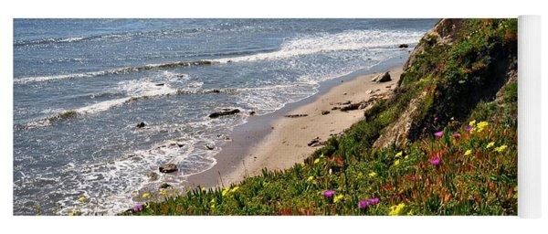 Santa Barbara Beach Beauty Yoga Mat