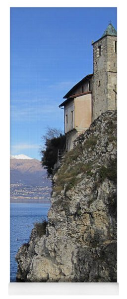 Yoga Mat featuring the photograph Santa Caterina - Lago Maggiore by Travel Pics