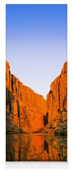 Santa Elena Canyon Yoga Mat