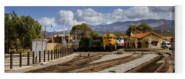 Santa Fe Rail Road Yoga Mat