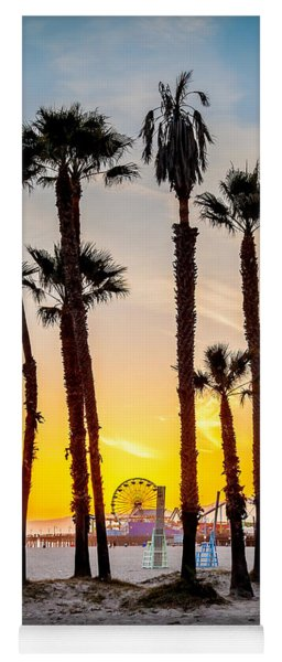 Santa Monica Palms Yoga Mat