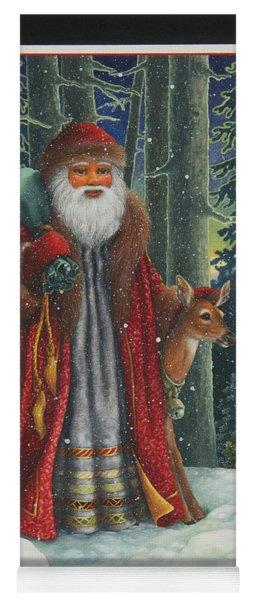 Santa's Journey Yoga Mat