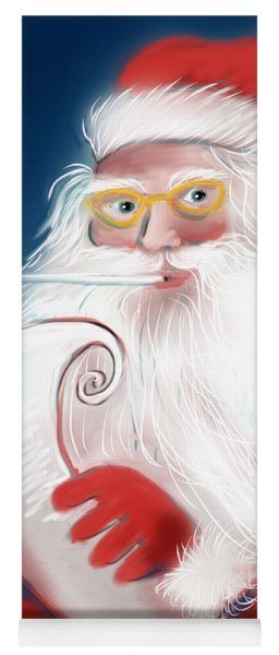 Santa's List Yoga Mat