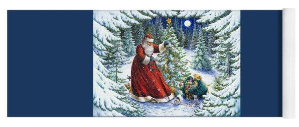 Santa's Little Helpers Yoga Mat