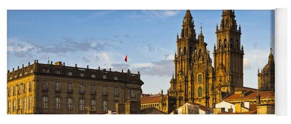 Santiago De Compostela Cathedral Galicia Spain Yoga Mat