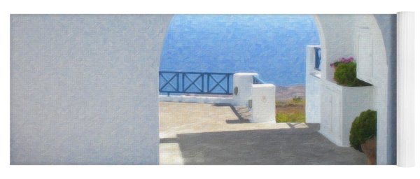 Santorini Grk8681 Yoga Mat