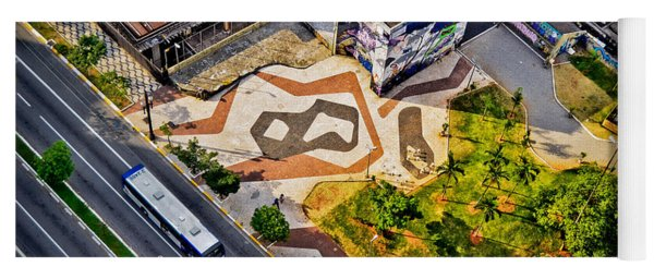 Sao Paulo Downtown - Geometry Of Public Spaces Yoga Mat