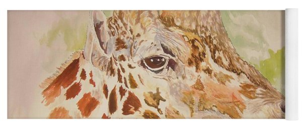 Savanna Giraffe Yoga Mat