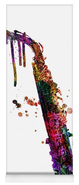 Saxophone 2 Yoga Mat