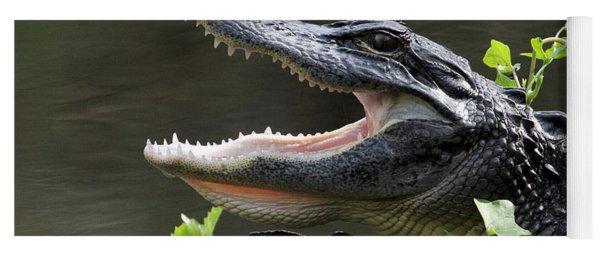 Say Aah - American Alligator Yoga Mat