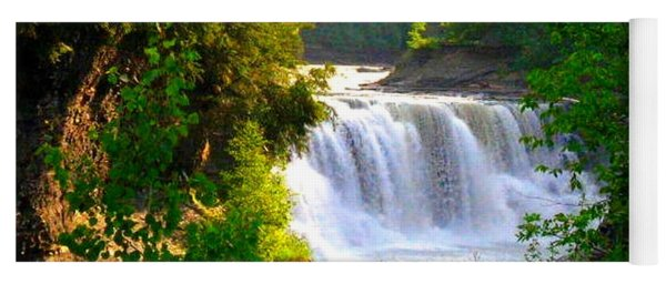 Scenic Falls Yoga Mat