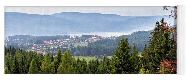 Schluchsee In The Black Forest Yoga Mat