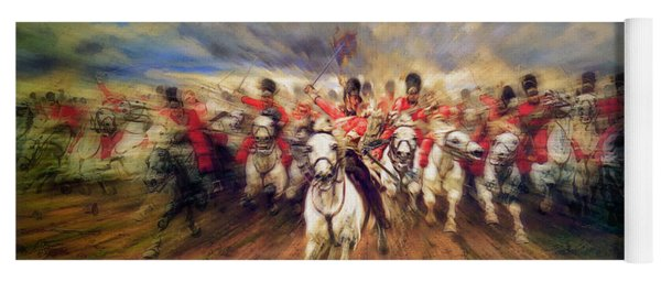 Scotland Forever During The Napoleonic Wars Yoga Mat