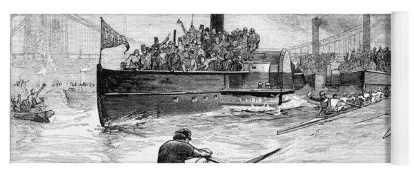 Sculling Race, 1881 Yoga Mat