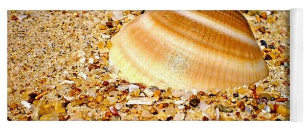 Sea Beyond The Shell Yoga Mat