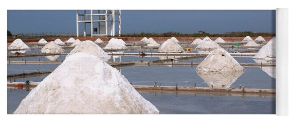 Sea Salt Production Yoga Mat