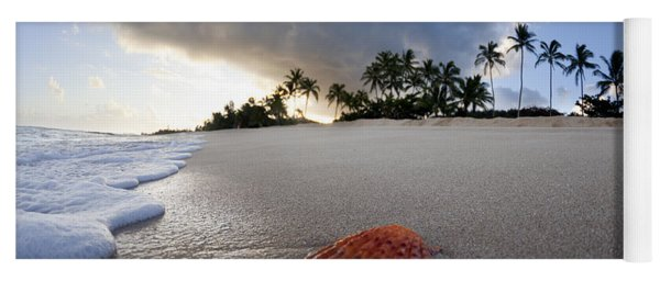 Sea Shell Sunrise Yoga Mat