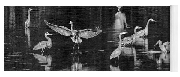 Seabeck Herons Yoga Mat
