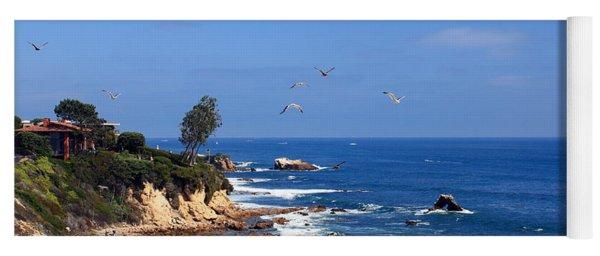 Seagulls At Laguna Beach Yoga Mat