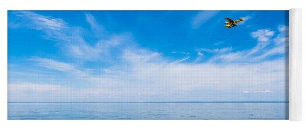 Seaplane Over Lake Superior   Yoga Mat