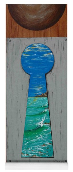 Search For The Key Yoga Mat