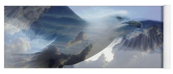 Searching The Sea - Seagull Art By Sharon Cummings Yoga Mat