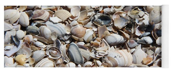 Seashells On The Beach Yoga Mat