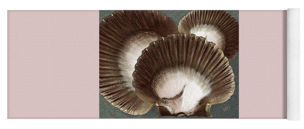 Seashells Spectacular No 22 Yoga Mat