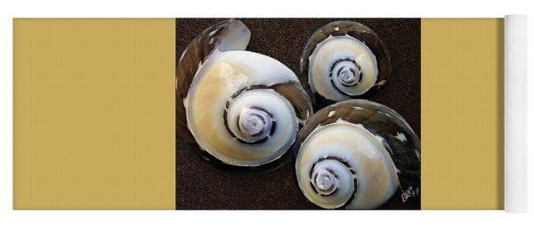 Seashells Spectacular No 23 Yoga Mat