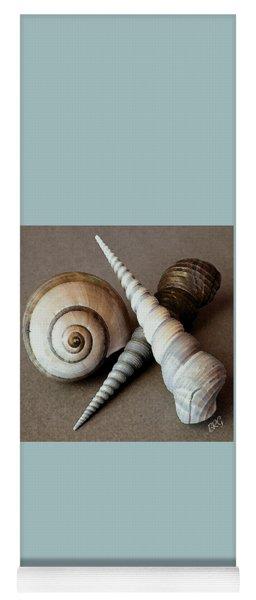 Seashells Spectacular No 24 Yoga Mat