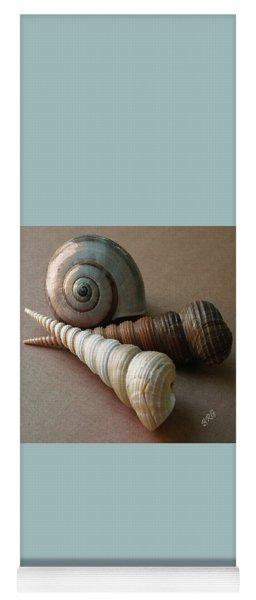Seashells Spectacular No 29  Yoga Mat