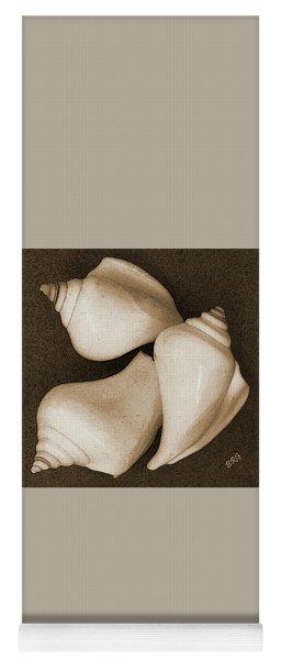 Seashells Spectacular No 4 Yoga Mat