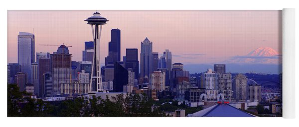 Seattle Dawning Yoga Mat