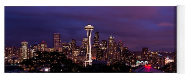 Seattle Night Yoga Mat