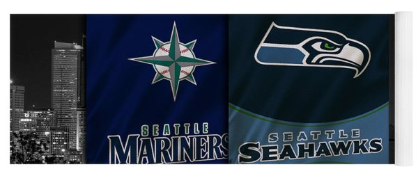 Seattle Sports Teams Yoga Mat