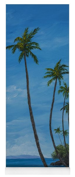Seawall Palms Yoga Mat