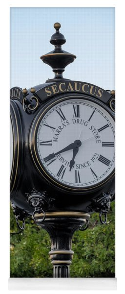 Secaucus Clock Marras Drugs Yoga Mat