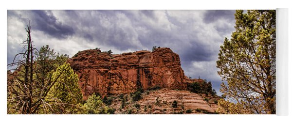 Sedona Arizona Mountain Scenery Yoga Mat
