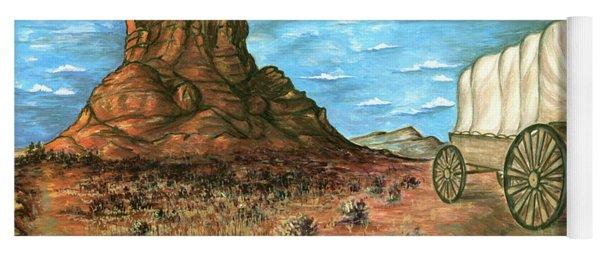 Sedona Arizona - Western Art Painting Yoga Mat