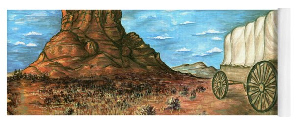 Sedona Arizona - Western Art Painting Yoga Mat