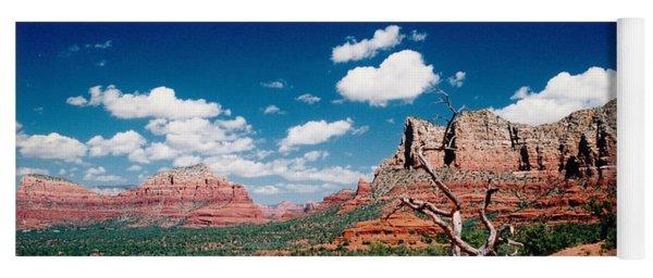 Sedona Desert Scene Yoga Mat