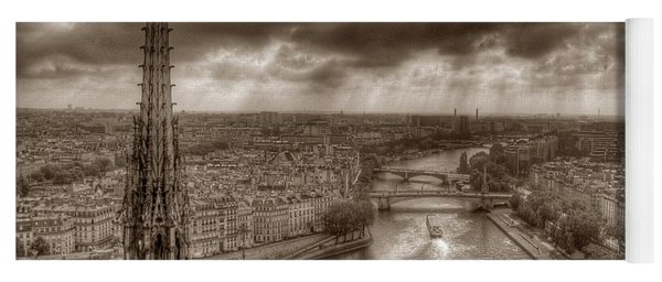 Seine From Notre Dame Yoga Mat