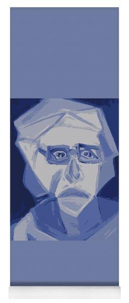 Self Portrait In Cubism Yoga Mat