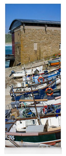 Sennen Cove Fishing Fleet Yoga Mat