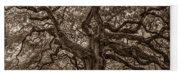 Sepia Angel Oak Yoga Mat